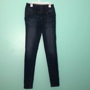 Blue Spice Padded Skinny Jeans Sz 0